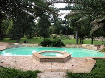 image of remodeled swimming pool