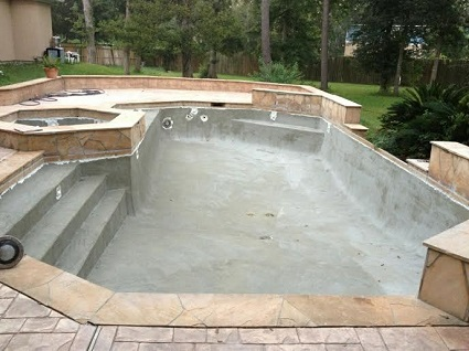 image of pool resurfacing project
